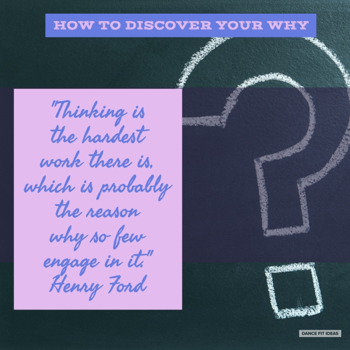 "How To Discover Your ""Why"""