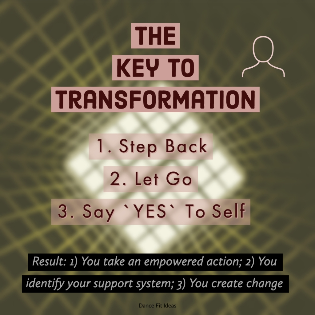 5 steps of change
